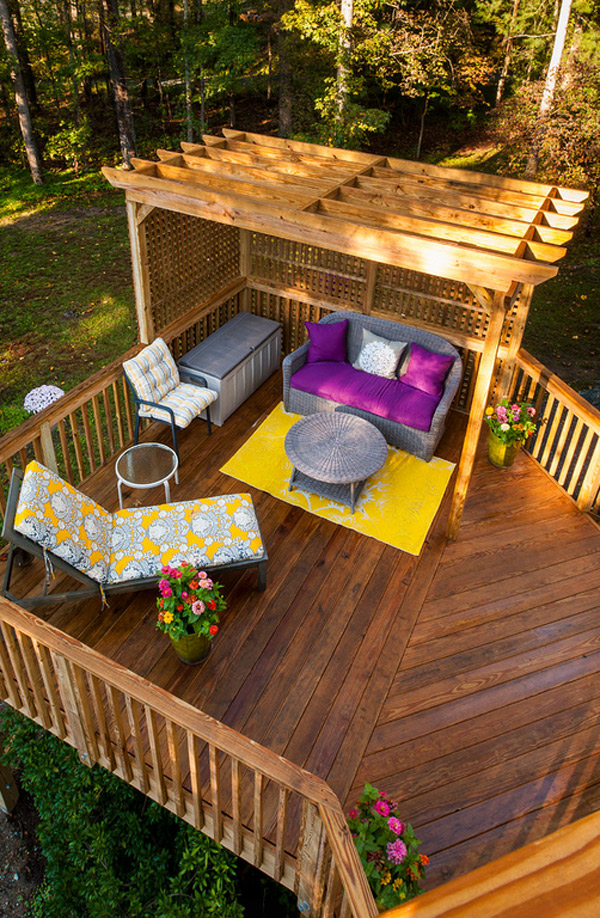 Deck Cost, Plus Pros and Cons of Building a New Deck in ... on Cost To Landscape Small Backyard id=63569